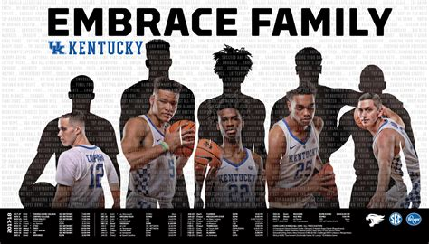 uk basketball schedule poster uk releases 2017 2018 kentucky basketball posters