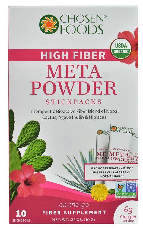 sle of high fiber diet chosen foods high fiber meta powder 10 packs