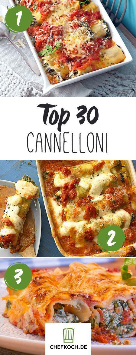 5 Zutaten Küche Oliver Rezepte die besten 25 cannelloni rezepte ideen auf