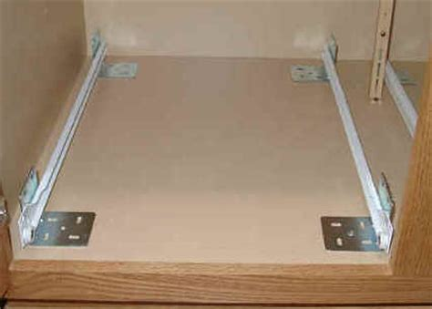 Cabinet Roll Out Shelves by Wood Roll Out Cabinet Shelf 22 Inch Depth In Pull Out