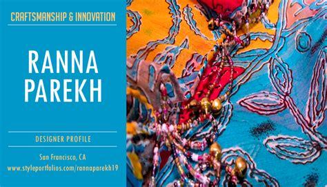 pattern maker jobs san francisco designer profile ranna parekh style portfolios