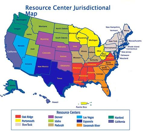 america map of resources u s department of labor office of workers compensation