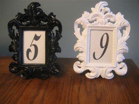 hobby lobby table numbers my photo frames from hobby lobby wedding