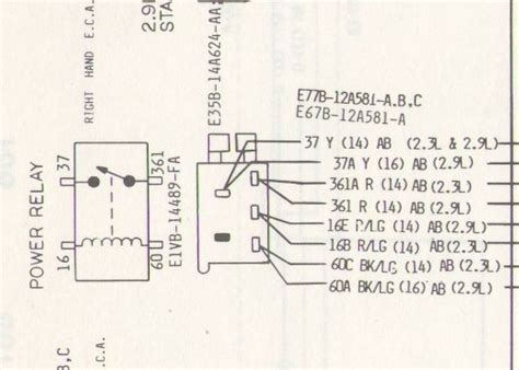 1986 ford ranger 4x4 wiring diagram