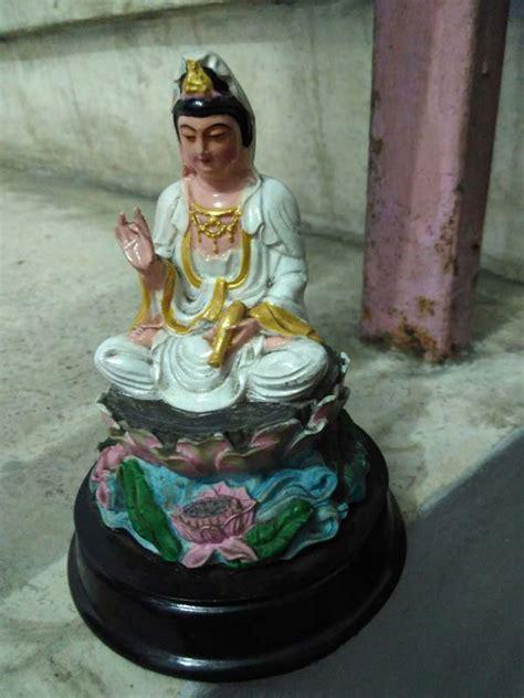 Pajangan Patung Dewi Kwan Im Patung Dewi Kwan Im Lq 344 W T1310 jual patung dewi kwan im fiber 10 cm dhammamanggala