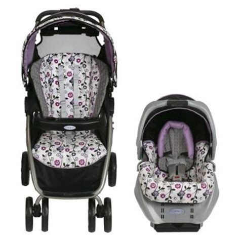 purple and gray stroller and carseat talavera comforter set mudhut pink brown car seats