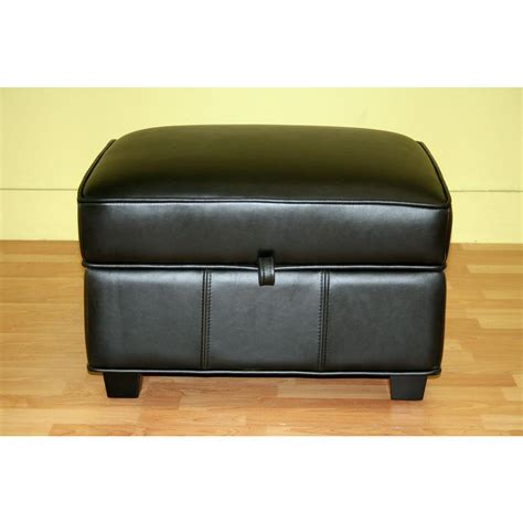 dark brown ottoman with storage baxton studio agustus dark brown storage ottoman 28862