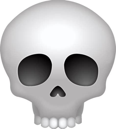 skull emoji   ios emojis emoji island