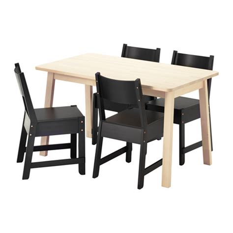 norr 197 ker norr 197 ker table and 4 chairs ikea
