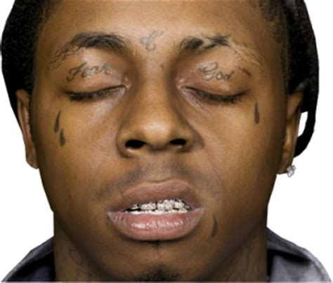 lil wayne face tatt awesome tattoos from your favorite celebrities ll cool j