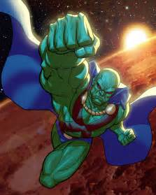 flash martian manhunter battles comic vine