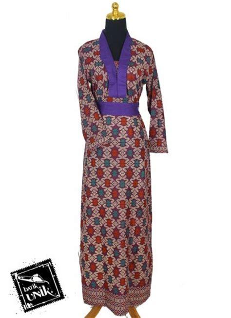 Songket Katun Premium 1 baju batik gamis katun motif songket etnik tumpal gamis