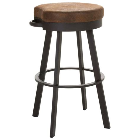 34 Bar Stools by Bryce 34 Bar Stool Swivel Seat Backless