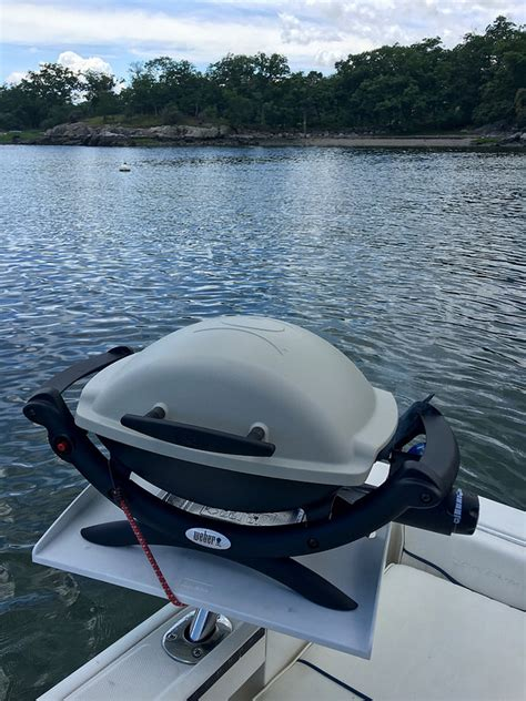 boat grill post grill for a boat recommendations page 2 the hull