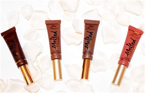 Deluxe Vs Dirt Cheap Givenchy And Revlon by Mmm Chocolate Lipsticks By Toofaced Jellybluesblog