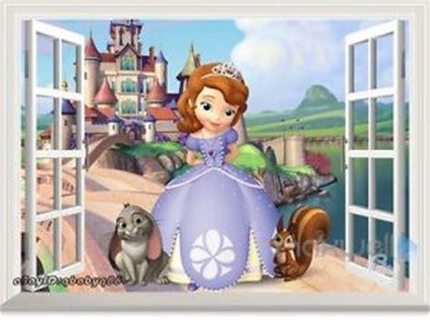 princess sofia wall stickers disney princess sofia the 3d window wall decals