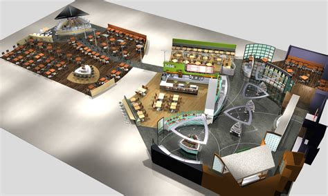 layout food court food court design concept foodcourt birmingham airport