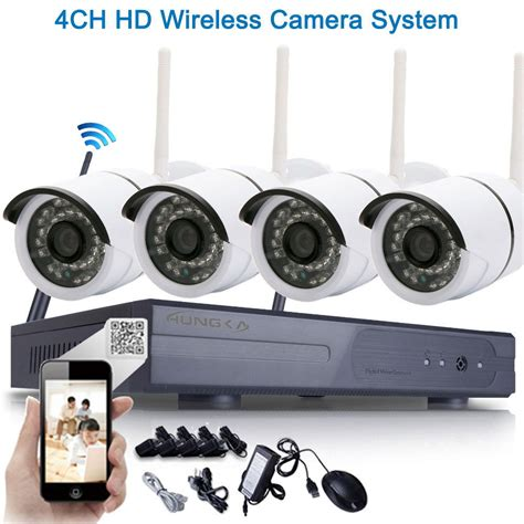 ip security systems 720p wireless nvr kit p2p hd outdoor ir cut security ip