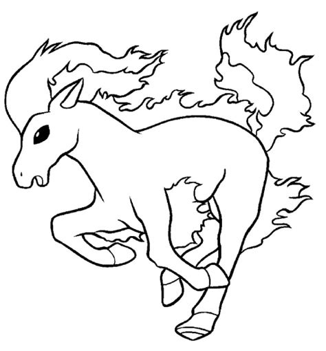 normal pokemon coloring pages pokemon ponyta coloring pages images pokemon images