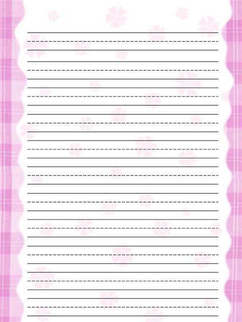 Free Printable Lined Stationery Templates Printable 360 Degree Free Paper Templates