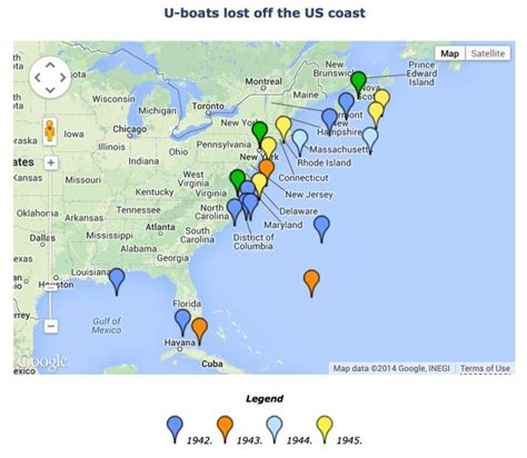 u boat off us coast 17 best images about submarines on pinterest the