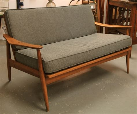 mid century settee found in ithaca 187 mid century settee possibly danish by