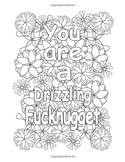 printable coloring pages swear words swear words free printable adult coloring pages sketch