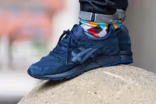 asics gel lyte v quot navy quot eu kicks sneaker magazine