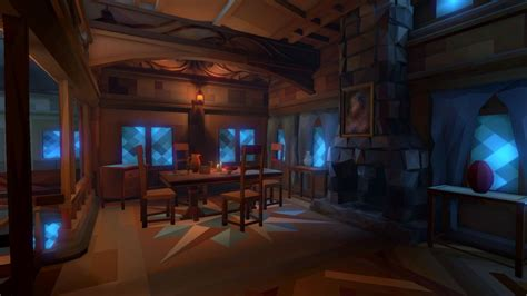 fantasy interiors polyworld  poly tools   art