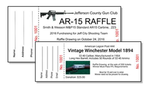 Gun Raffle Ticket Template Custom Raffle Ticket Printing Ez Online Design Best Ticket Printing