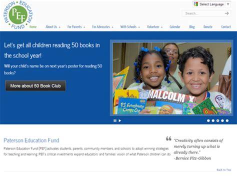 website design archives nj web design bza paterson education fund logo branding nj web design bza