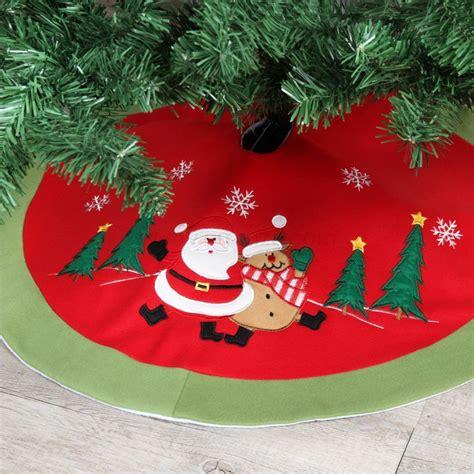 tappeto per albero di natale tappeto per albero rotondo teddy babbo natale accessori