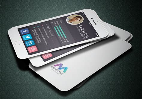 Business Card Iphone Template by 20 Unique Business Cards Psd Vector Eps Ai