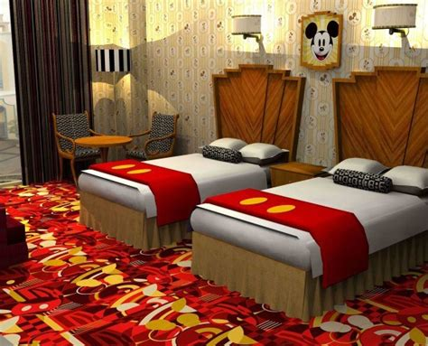 disney themed hotel love disney these adorable mickey and minnie hotel rooms