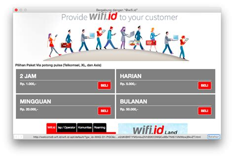 Paket Wifi Id Unlimited cara daftar wifi id dengan telkomsel indosat 3 indihome seamless gratis lewat sms