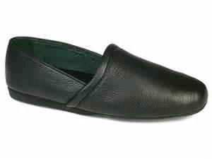 Mens Bedroom Slippers Leather evans aristocrat opera slipper men s leather slipper