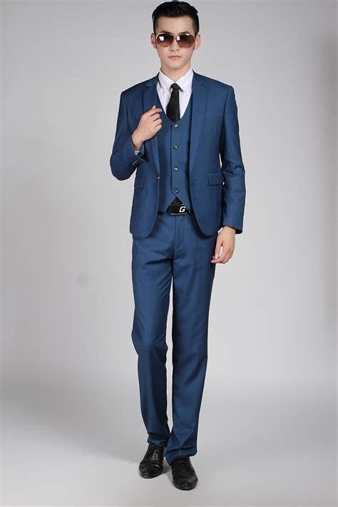 Fashion Set Sc12650 Blue navy blue casual suit dress yy