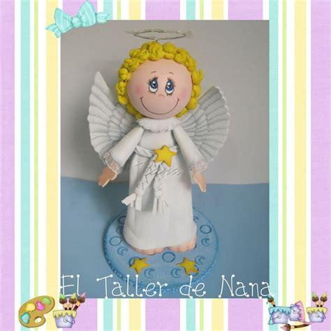el taller de nana angeles para bautizo fofuchas angeles
