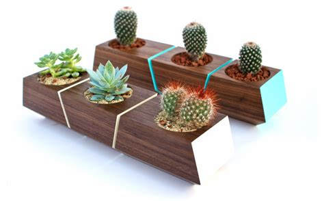 Planters Indoor Modern by Boxcar Planter Series Modern Indoor Pots Planters