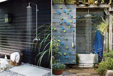 docce per esterno goditi una doccia in giardino idee interior designer