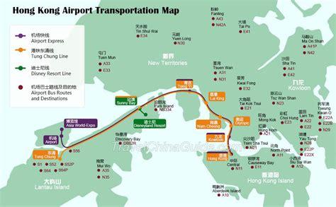 hong kong maps tourist attractions streets subway