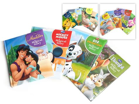 The Magic L Story disney the magical story book 4 pk woot toys