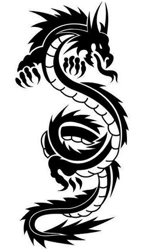 tribal dragon tattoo design ideas the xerxes