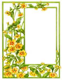 flower frame clipart 69