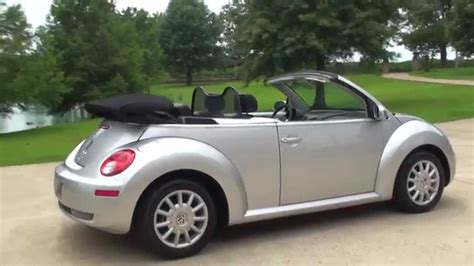 convertible volkswagen 2006 hd video 2006 volkswagen new beetle bug convertible used