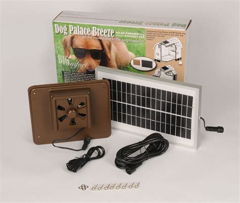 solar powered dog house doghouse exhaust fans insulated doghouses by asl solutions inc