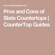 17 Best ideas about Slate Countertop on Pinterest   Dark