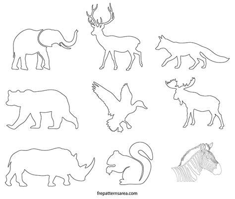 printable animal shapes free animal shapes printable hospi noiseworks co