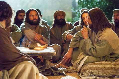 imagenes de jesus hablando con sus apostoles mc 2 13 17 no he venido a llamar a justos sino a