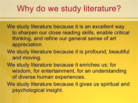Why Do We Need To Study Language Essay by Why Do We Need To Study Literature Formatessay Web Fc2